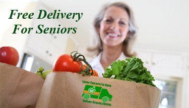free delivery for seniors